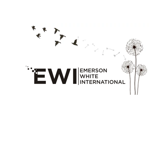Design logo for emerson white international logo brand for International decor brands