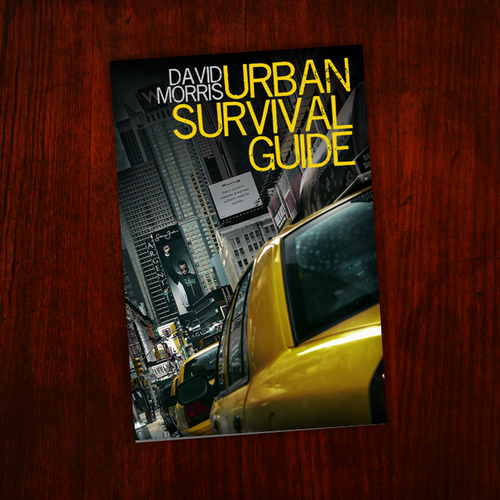 Urban Book Cover Ideas ~ Book cover design for urban survival guide print or