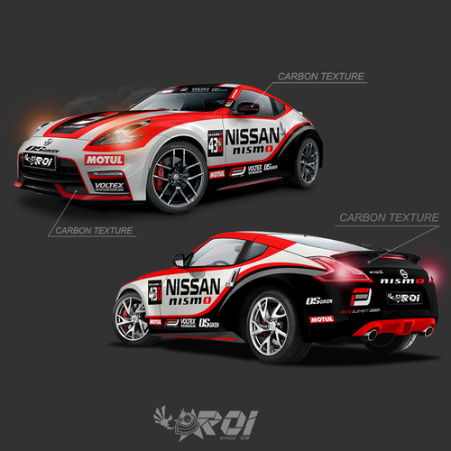 Runner-up design by R.Roi