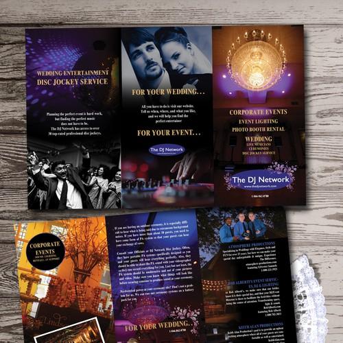 wedding dj brochure