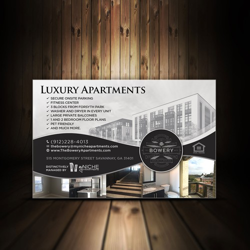 Ads For Apartments: Savannah Magazine Ad-The Bowery Apartments