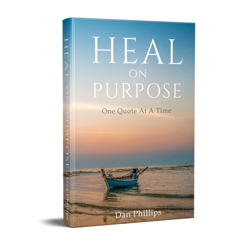 Book Cover Design Help : Book cover design for self help about healing