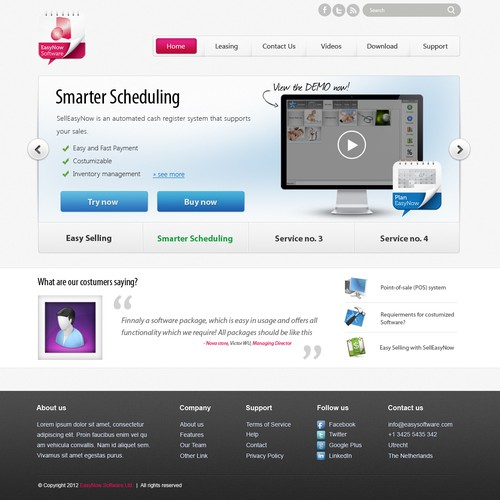 Diseño finalista de iDny