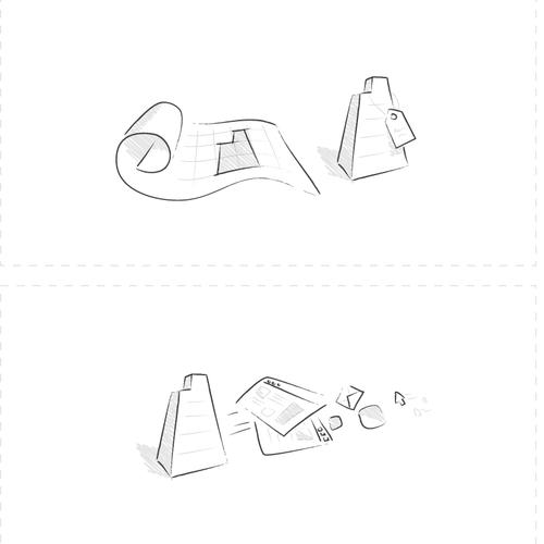 Runner-up design by v☺v a