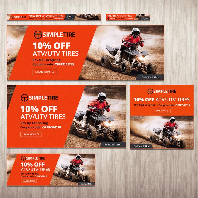 Simpletire Com 10 Off Atv Utv Tires Promotion Banner Ad Contest