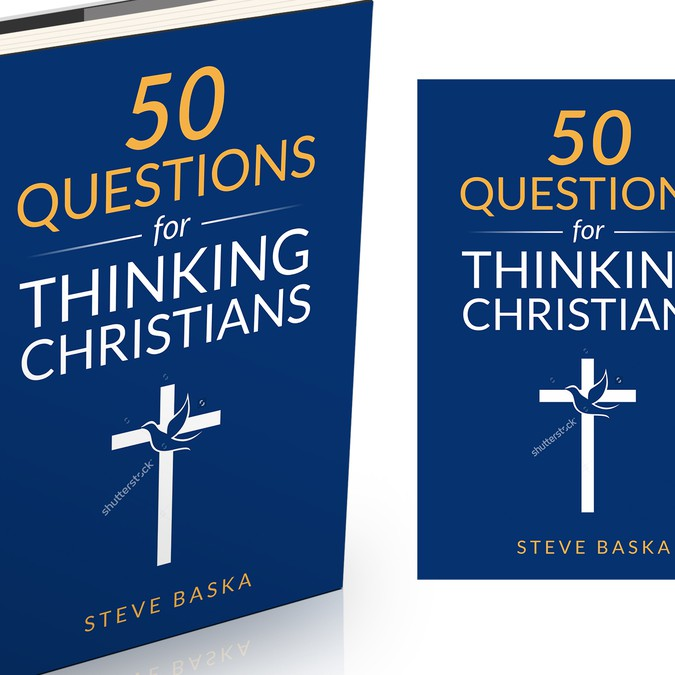 Book Cover Design Questions : Questions for thinking christians book cover
