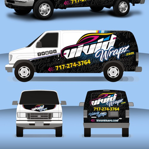 Runner-up design by StudioGrafico™Wraps