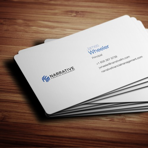 Craft sophisticated business card for financial consultant in tech runner up design by irdesignstudio colourmoves