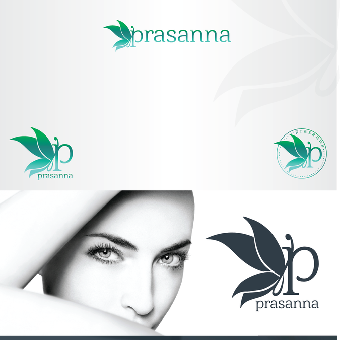 Create an eye-catching logo to convey the clear, bright