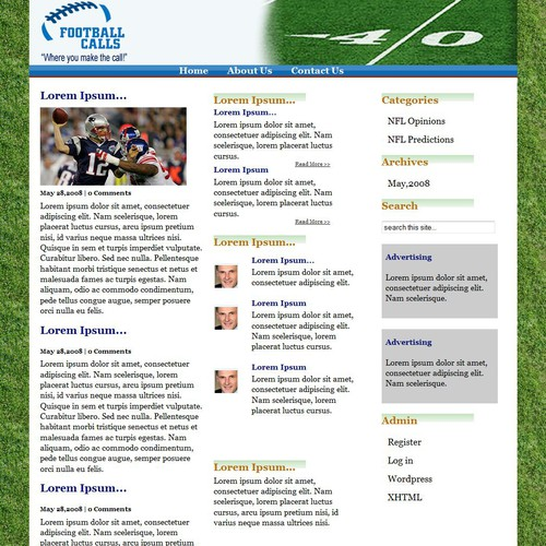 Ontwerp van finalist Boyles Web Design