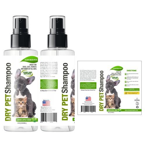 Create A Label For A Pet Shampoo Bottle