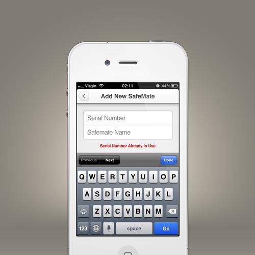 Design finalista por CalmSpark App Design