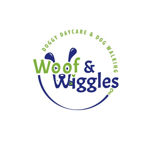 New logo for doggy daycare & walking 'woofs & wiggles' | Logo ...