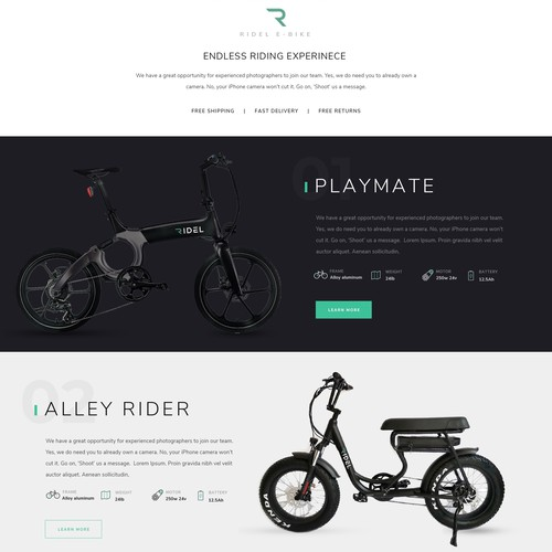 Runner-up design by Point Blank