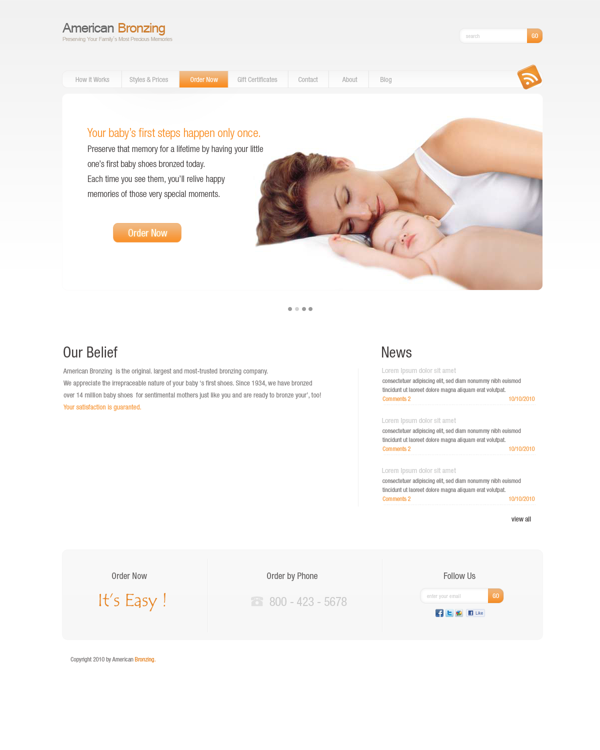Custom Wordpress Themes by puremate