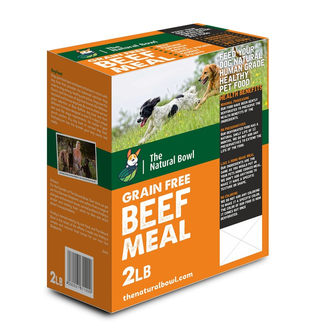 Design A Box For A Healthy Pet Food Brand Product Packaging Contest