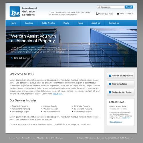 Zweitplatziertes Design von WebFiner