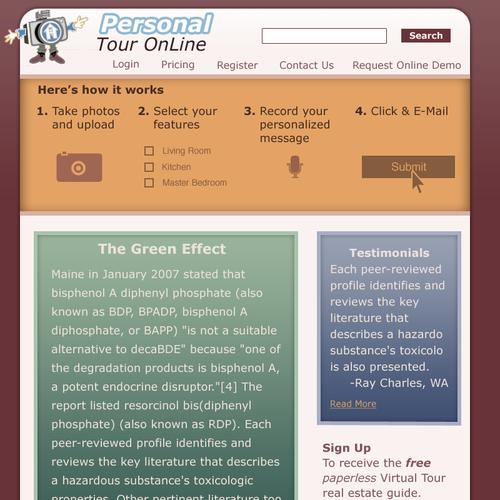 Zweitplatziertes Design von webdever