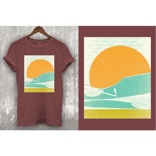T-shirt designs for t-shirt company. Design by Tebesaya*