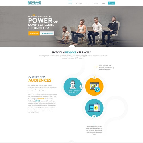 Runner-up design by webdesignunited