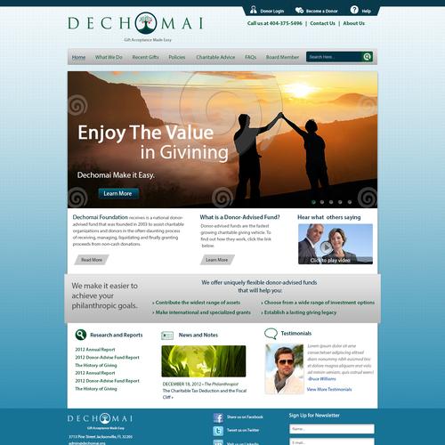 Design finalisti di Delegate2Win.org