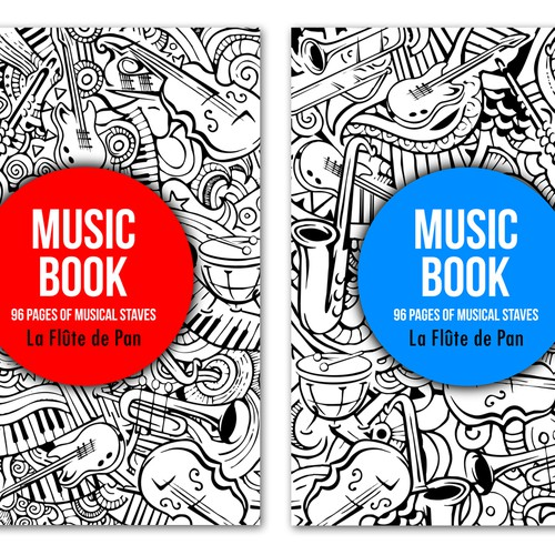 Music Book Cover Design ~ Create cover for sheet music book contest