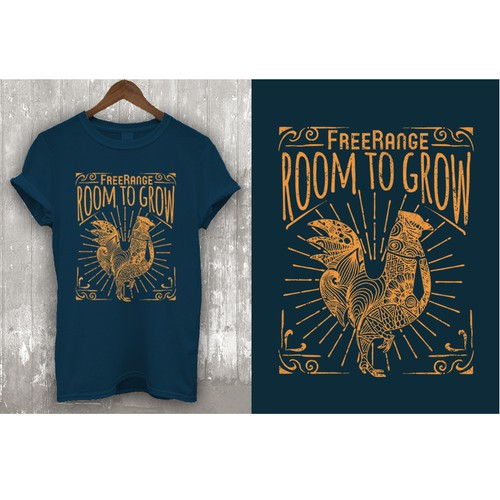 Design a Fun Visually Captivating and Creative T-shirt design for an awesome company!! Design by Tebesaya*