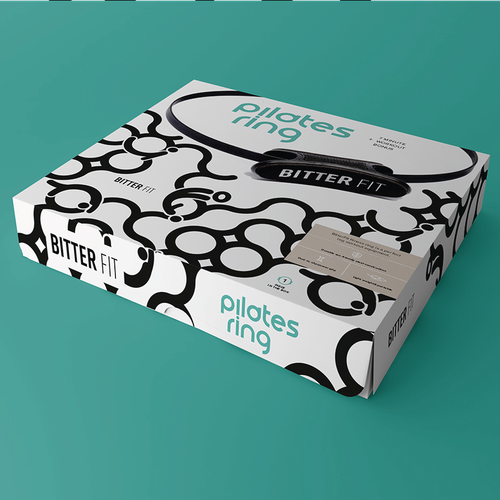 BitterFit Needs an Attention Grabbing and Perceived Value Increasing Packaging For Pilates Ring Design by Eugenia Bagaeva
