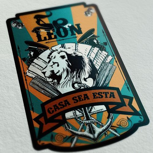 Runner-up design by Leon Ledesma