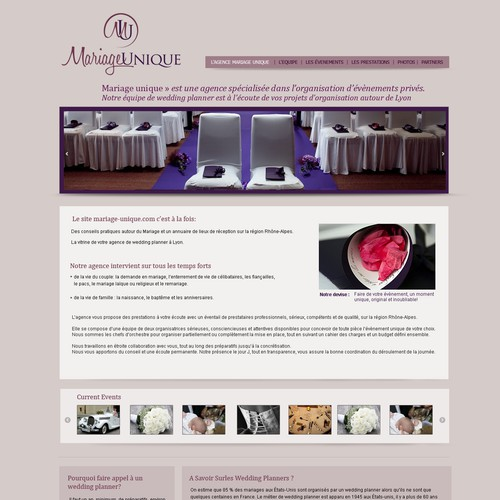 wordpress attachment page template - wordpress template for a wedding planner website custom
