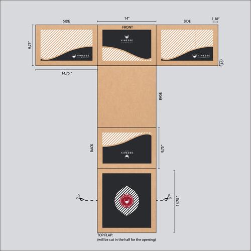 Diseño finalista de ahhPepperoni