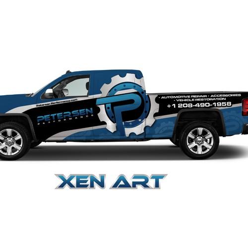 Diseño finalista de xen art
