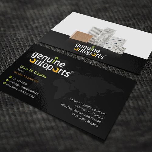 Re create a cool black background professional business card design finalista por bertmanuel reheart Gallery