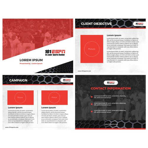 Create PowerPoint Template For Sports Radio Station