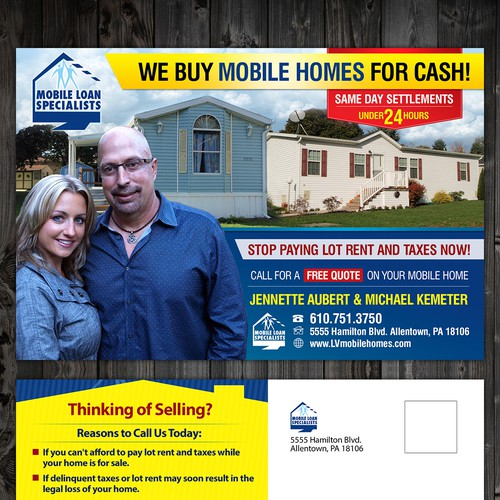 Mobile Loan Specialists needs a new postcard, flyer or print Ontwerp door charlim888