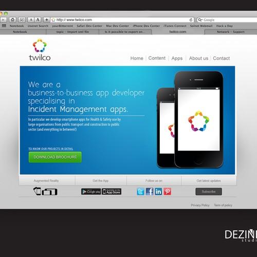 Runner-up design by DEZINE.studio