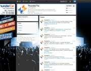 Twitter background design by Ilbey