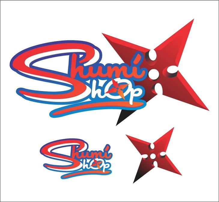 Online Anime Shop Logo Design Shumi PTY LTD