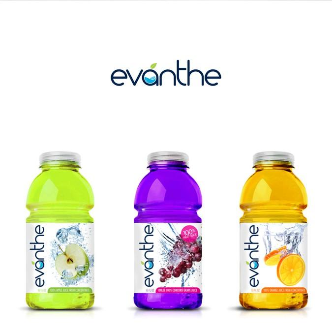 Evanthe - Flavored Water | Logo design contest
