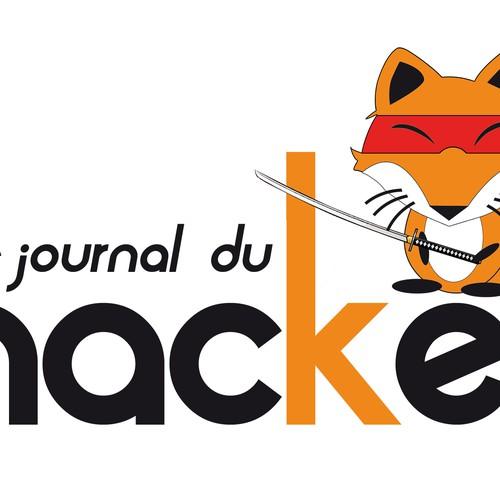 le journal du hacker cherche son logo logo design contest. Black Bedroom Furniture Sets. Home Design Ideas
