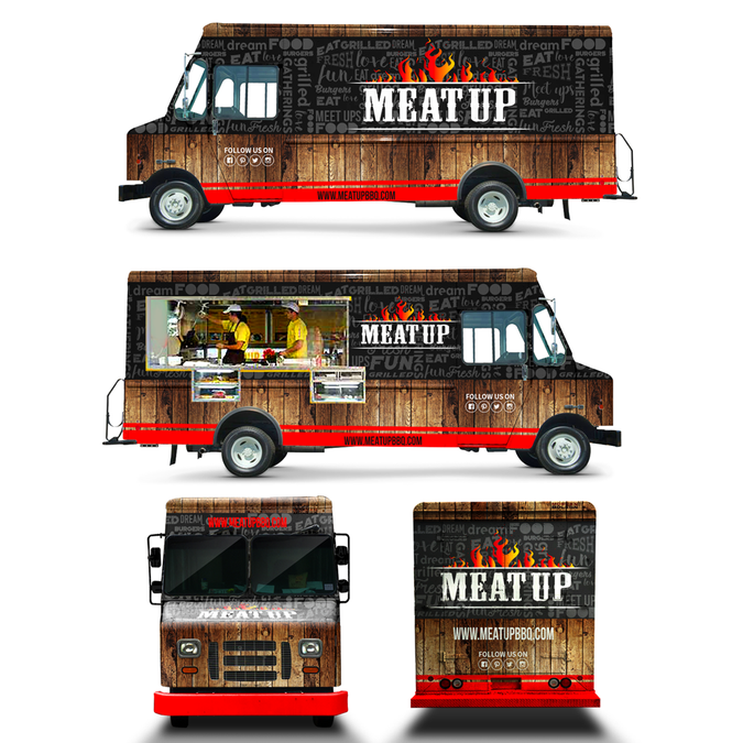 Food Truck Wrap Designer