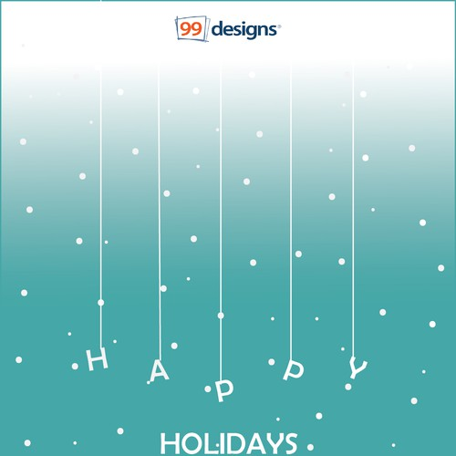 BE CREATIVE AND HELP 99designs WITH A GREETING CARD DESIGN!! Design von urbanbug