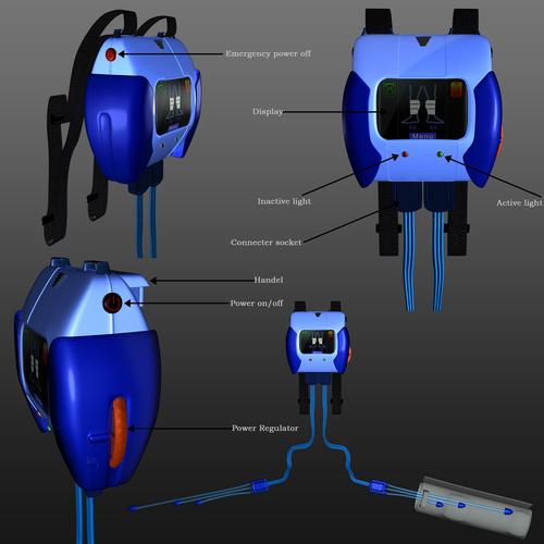Zweitplatziertes Design von Mettle Tech