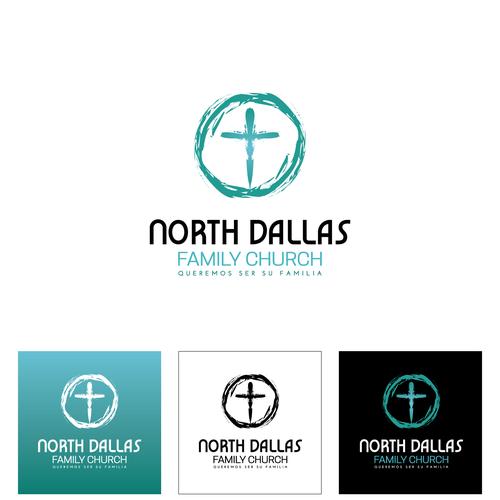 north dallas family church new logo logo design contest