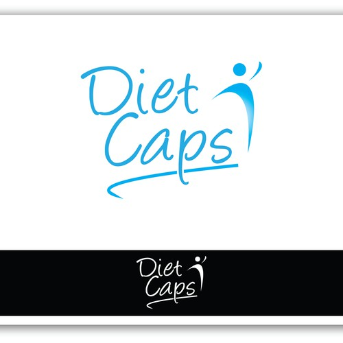 logo for dietcaps logo design contest Dietary Food runner up design by king anubis