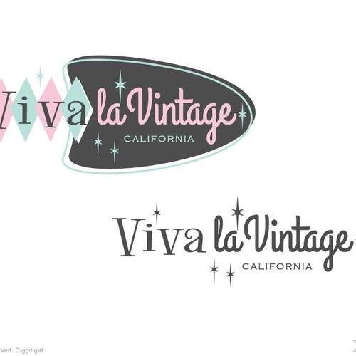 Update logo for Vintage clothing & collectibles retailer for Viva la Vintage Design by Diggitigirl ♥