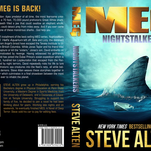 Best Book Cover Creator : Meg nightstalkers create the next ny times best selling