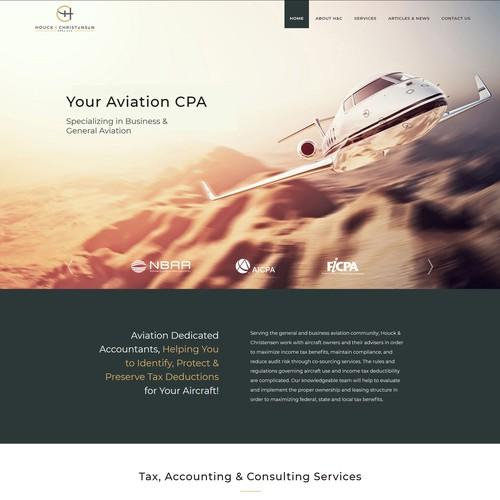 Diseño finalista de website special