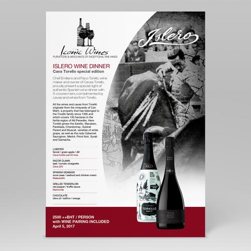 Tasting Menu Design Design by Djol3