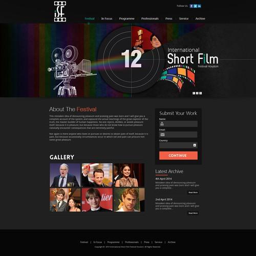 Runner-up design by webdesignunited